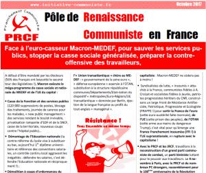 #manif10octobre : pour sauver les services publics, stopper la casse sociale vite une manifestation à Paris ! #tousensemble !