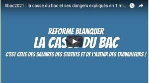 #Bac2021 : la réforme du bac et ses dangers expliqués en 1minute en vidéo