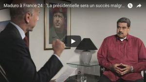 """""""Macron c'est l'ultra-droite néolibérale qui détruit la France"""" Nicolas Maduro"""