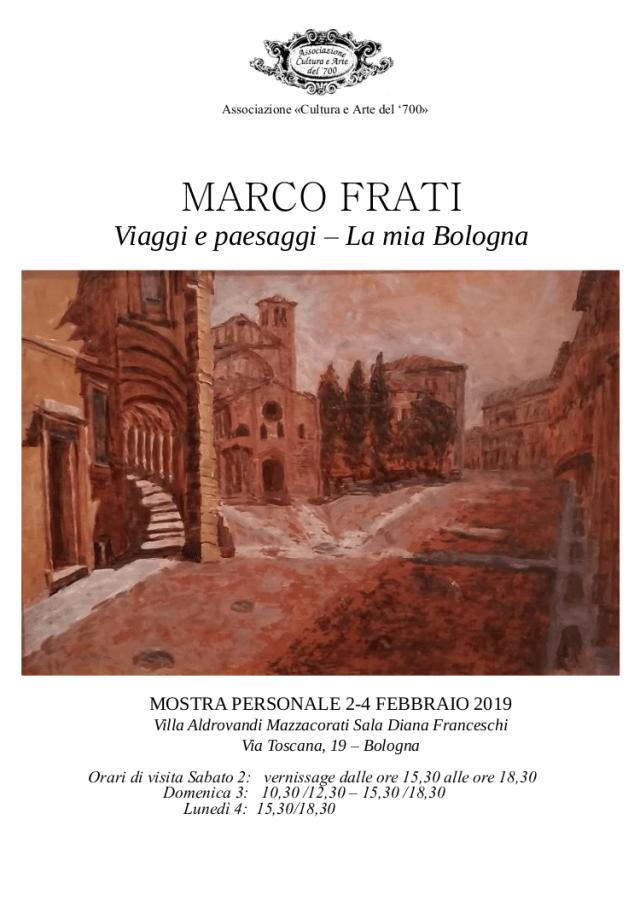 Marco Frati, malattia di Parkinson