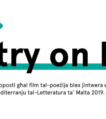 Sejħa għal Proposti: Poetry on Film 2019