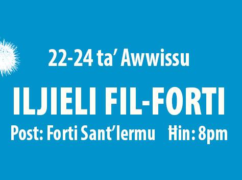 MMLF2019 - 22-24 Aug - Iljieli fil-Forti