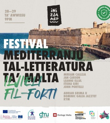 Il-Festival Mediterranju tal-Letteratura ta' Malta 2020