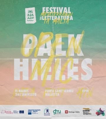 Palk Ħieles / Open Mic – 26 t'Awwissu 2021