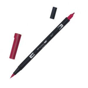 Tombow Dual Brush Marker – 847 Crimson
