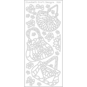 Cute Bags Peel-Off Stickers – Black