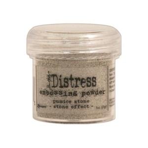 Distress Embossing Powder 1oz – Pumice Stone / Stone Effect