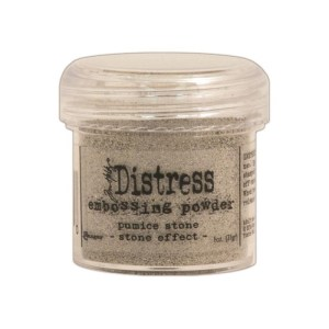 Distress Embossing Powder 1oz – Pumice Stone / Stone Effect