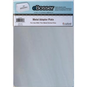 eBosser Metal Adapter Plate 8.5″X12″ – For Use W/Thin Metal Etched Dies