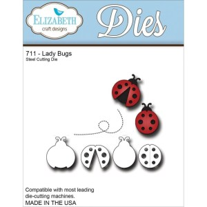 Elizabeth Craft Metal Die – Ladybugs