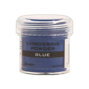 Embossing Powder .56oz Jar – Blue