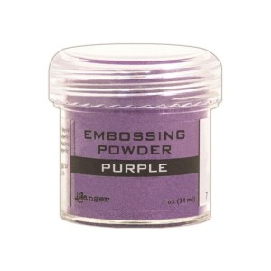 Embossing Powder .56oz Jar – Purple