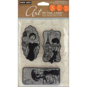 Hero Arts Art Of The Card Cling Stamps 4″X6″ Sheet – Enchanted