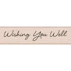 Hero Arts Mounted Rubber Stamps .5″X3″ – Little Greetings Wishing You Well
