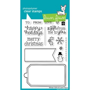 Lawn Fawn Clear Stamps 4″X6″ – Winter Gifts