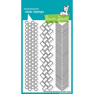 Lawn Fawn Clear Stamps – Interlocking Backdrops