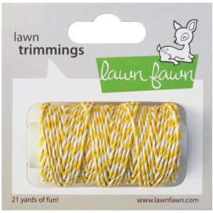 Lawn Trimmings Hemp Cord 21yd – Lemon