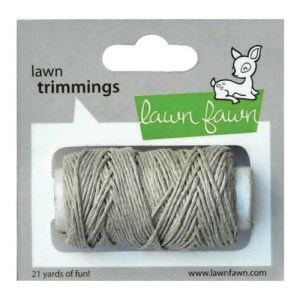 Lawn Trimmings Hemp Cord 21yd – Natural