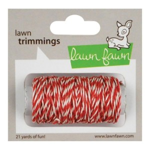 Lawn Trimmings Hemp Cord 21yd – Peppermint