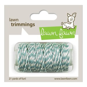Lawn Trimmings Hemp Cord 21yd – Sky