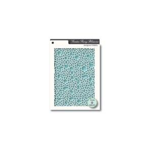 Memory Box Stencil – Peony Blossom