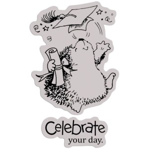 Penny Black Cling Rubber Stamp 4″X5″ Sheet – A Scholar