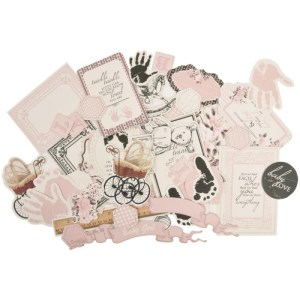 Pitter Patter Collectables Cardstock Die-Cuts – Girl