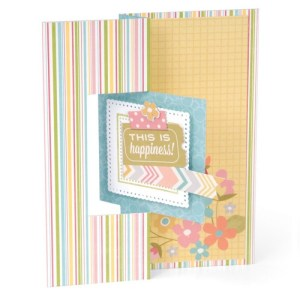 Sizzix Framelits Dies 12/Pkg – Square No.2 Flip-Its Card