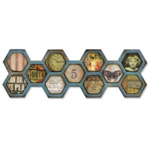 Sizzix Frameworks Border Die By Tim Holtz – Honeycomb
