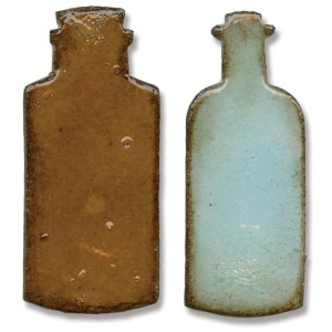 Sizzix Movers & Shapers Magnetic Dies By Tim Holtz 2/Pkg – Mini Apothecary Bottles