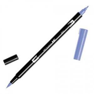 Tombow Dual Brush Marker – 603 Periwinkle