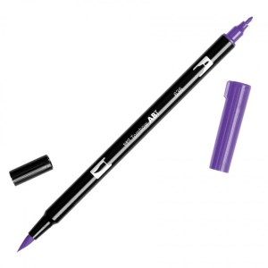 Tombow Dual Brush Marker – 636 Imperial Purple