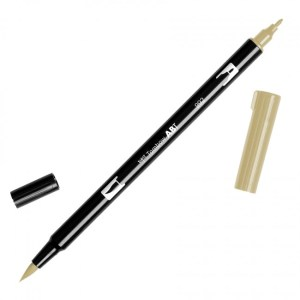 Tombow Dual Brush Marker – 992 Sand