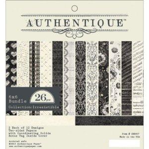 Authentique Paper Pad 6″X6″ 24/Pkg – Irresistible
