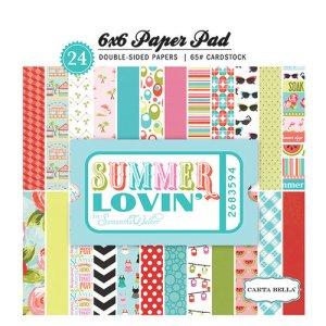 Carta Bella – 6 x 6 Paper Pad – Summer Lovin