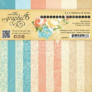 Graphic 45 – Precious Memories Collection – 6 x 6 Paper Pad