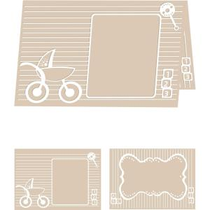 Craftwell Baby Blocks Embossing Folder