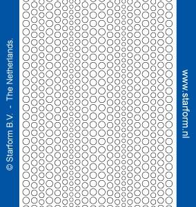 Starform Glitter Stickers 7018 – Gold/Silver