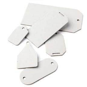 Basic Grey Undressed Chipboard Tags