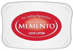 Memento Dye Ink Pad – Love Letter