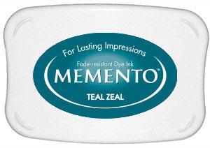 Memento Dye Ink Pad – Teal