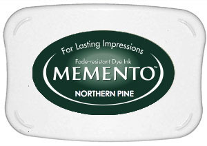 Memento Dye Ink Pad – Northern Pine