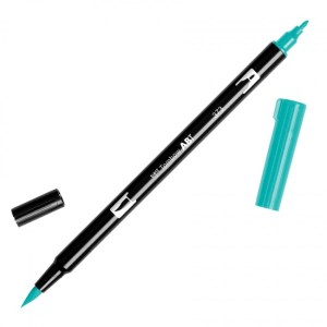 Tombow Dual Brush Marker – 373 Sea Blue