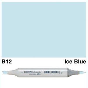 Copic Sketch B12-Ice Blue