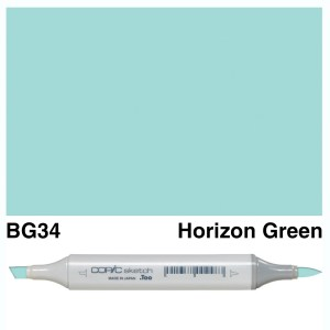 Copic Sketch BG34-Horizon Green