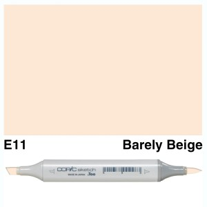 Copic Sketch E11-Bareley Beige