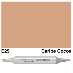 Copic Sketch E25-Caribe Cocoa