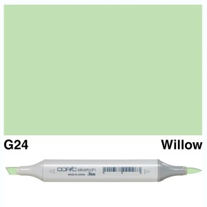 Copic Sketch G24-Willow