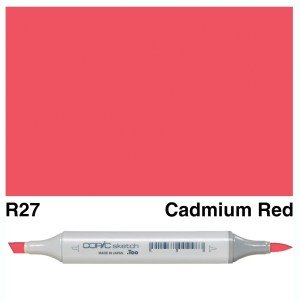 Copic Sketch R27-Cadmium Red