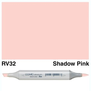 Copic Sketch RV32-Shadow Pink